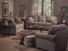 Patrick/Prescott Living Room Set by Flexsteel at Crowley Furniture in Kansas City