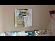 Mixed Media Collage with Bird and Nest (pt.1) - YouTube