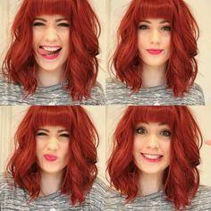#red #hair | Hair ✧ | Pinterest | Cabelo Vermelho, RED - filme e Cabelo