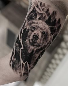 King of the forest 🌲 Sorry for my absence - I too had to catch the fall flu, but I'm finally back! Wolf Tattoos, Animal Tattoos, Ship Tattoos, Gun Tattoos, Ankle Tattoos, Arrow Tattoos, Mens Owl Tattoo, Deer Tattoo, Tiny Tattoo
