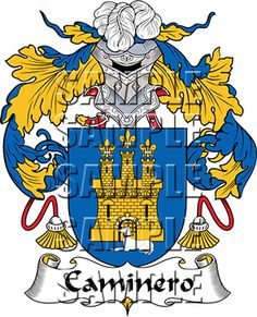 Caminero Family Crest apparel, Caminero Coat of Arms gifts