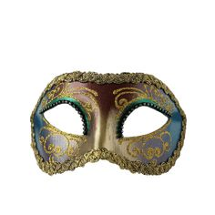 Purple Gold Italian Masquerade Mask ($39) ❤ liked on Polyvore featuring costumes, ladies halloween costumes, masquerade halloween costume, purple costume, carnival halloween costumes and womens costumes