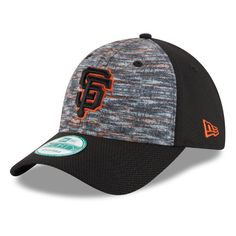 San Francisco Giants New Era Sub Mixer 9FORTY Adjustable Hat - Heathered Gray/Black - $22.99