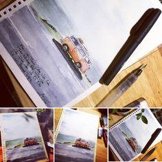 Watercolor, Watercolor Painting, Watercolors, Watercolour