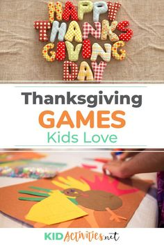 15 Fun Thanksgiving Games for Kids to Play at School Outdoor Games For Kids, Fun Games For Kids, Games For Toddlers, Thanksgiving Games For Kids, Thanksgiving Crafts, Fall Crafts, Indoor Activities For Kids, Kid Activities, Preschool Ideas