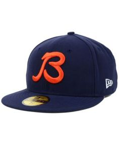 New Era Chicago Bears 2Tone 59FIFTY Fitted Hat - Navy | Fitted ...