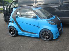 rs parts tuning Smart Passion, Smart Car Body Kits, Smart Brabus, Headlight Cleaner, Bike Cart, Smart Fortwo, Car Goals, City Car, Car Wrap