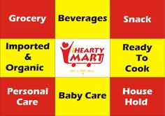 we supply following categories  Grocery Beverages Ready to Cook Personal care baby care house hold snack imported & Organic products