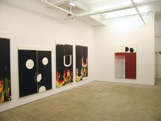 Wade Guyton, Color, Power & Style,  Installationview Friedrich Petzel Gallery,  2006