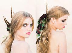 Floral Bridal Beauty - Ashley Ludaescher Photography | Berlin Wedding Photographer