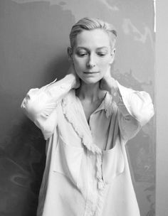 Tilda Swinton. She seems like a beautiful creature from another world...