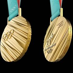 """The Olympic Games ( """"Breaking news: here are the medals for Good luck to all the athletes! Olympic Idea, Olympic Games, Go Usa, 2018 Winter Olympics, Olympic Medals, Logo Sign, Winter Games, Marathon, Athletes"""