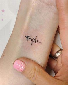 Diy Tattoo, Get A Tattoo, Tattoo Fonts, Unique Small Tattoo, Small Tattoo Designs, Small Girl Tattoos, Little Tattoos, Small Tattoo Quotes, Small Tattoos For Women