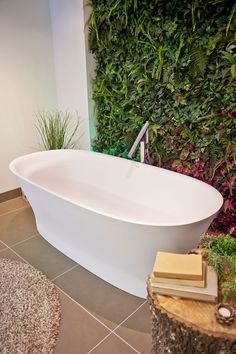 Duravit Cape Cod bath, new this year and available from C.P. Hart #duravit #cphart #bathroomtrends