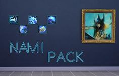 Mod The Sims - League of Legends Nami Pack