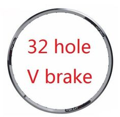 26 inch Mountain bike rims disc brake V brake aluminum bicycle rim mtb tryall 36 / 32 hole