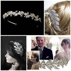 This board is an inspiration board for Wedding hair and Wedding ideas. They show mainly Vintage hair, make up, dresses in Downton Glory! We do wedding hair, check out our other boards! Vintage Hairstyles, Wedding Hairstyles, Wedding Hair Inspiration, Wedding Ideas, Vintage Wedding Hair, Wedding Hair Accessories, Hair Pins, Bridal Hair, Bride