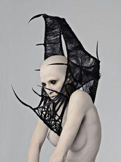Goth androginia