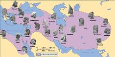 The Persian Empire Iran: First established by Cyrus the Great in 550 BCE with the conquest of Media, Lydia, and Babylonia.