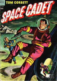 Comic Book Cover For Tom Corbett, Space Cadet #9