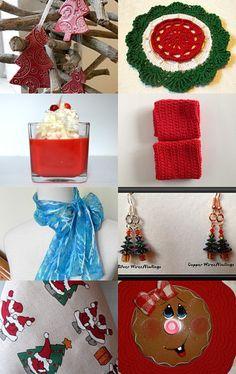 Happy Holidays by Susan Harris on Etsy--Pinned with TreasuryPin.com