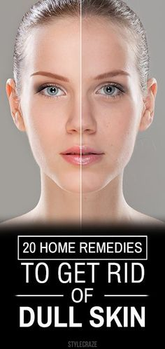 Dull skin is a disturbing skin issue. To retain the glow on your skin, certain lifestyle changes need to be made. Also, home remedies for dull skin ...