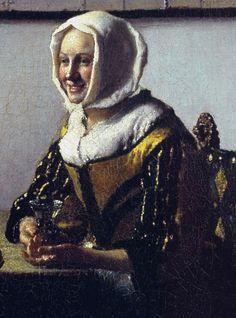 Johannes Vermeer (detail)