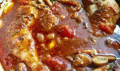 csirke cacciatore Cacciatore, Pepperoni, Chili, Pizza, Soup, Tasty, Chicken, Meat, Recipes