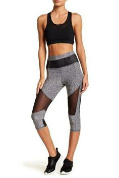 The Rosa Workout pant Wear Test, Badgley Mischka, Workout Pants, Capri, Classy, Chic, Womens Fashion, How To Wear, Mesh