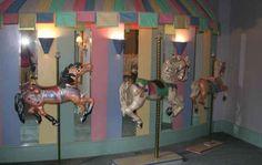 carousel theme in nursery