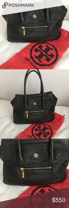 Tory Burch In like new condition with only very minor wear. I've use his bag maybe twice and the rest of the time it's just been sitting in my closet. Reasonable offers accepted. Tory Burch Bags