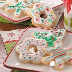 Best-Ever Sugar Cookies Recipe from Taste of Home -- shared by Christy Hinrichs of Parkville, Missouri