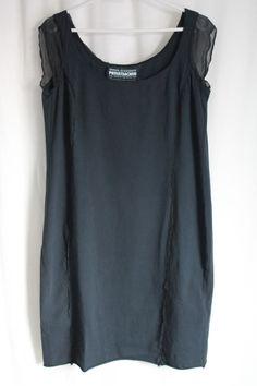 cocon.commerz PRIVATSACHEN WACHSALGE Kleid aus FAIRSHIRT in schwarz - Größe 2