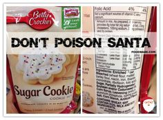 Don't Poison Santa! {Make This Healthy Sugar Cookie Recipe Instead}