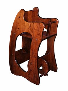 Amish 3-in-1 high chair, desk, rocking horse!