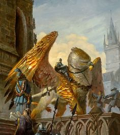 Griffin rider, messenger, scout, Noble cavalry, augmented animals,