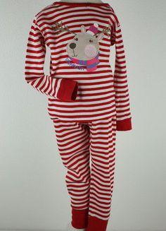 Kaufe meinen Artikel bei #Mamikreisel http://www.mamikreisel.de/kleidung-fur-madchen/zweiteilige-schlafanzuge/31334699-oshkosh-schlafanzg-pyjama-elch-gr-92-2j