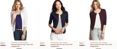 Fab daily feature from @AudreyMcClellan FASHION DEAL OF THE DAY: CARDIGANS FOR $18 at the @Debbie Lofton
