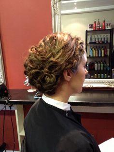 Multi braided hair up - hair by Jac