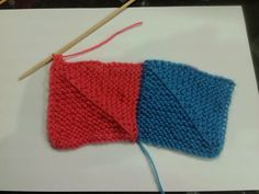 I first came across 'constructional' knitting in a magazine a couple of years ago; learning to make and join 'mitred' squares opened up...