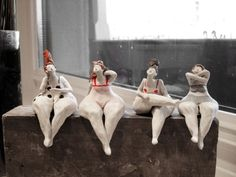 Diese wunderbaren Figuren aus Zürich gibt es schon seit über 20 Jahren. Eine steht bei mir seit 24 Jahren.