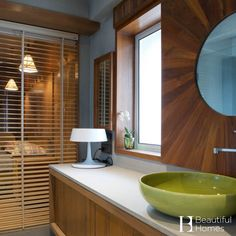 Sleek interiors of a master bathroom. Image courtesy: Tejal Mathur Design