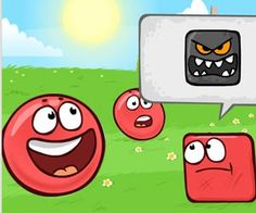 Hot Games Friv 4 : Red Ball is back but on this new Red ball 6