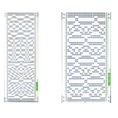 Brother KRC Series Punchcards 41-50 - Punch Cards - Brother-KnitKing