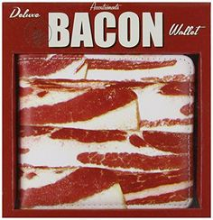 funny christmas gifts under 10 dollars - Accoutrements Bacon Wallet >>> Be sure to check out this awesome product. (This is an affiliate link) Funny Christmas Gifts, Holiday Gifts, Gifts For Boys, Gifts For Him, Weird Gifts, Crazy Gifts, Gifts Under 10, Gamer Gifts, Wallets For Women