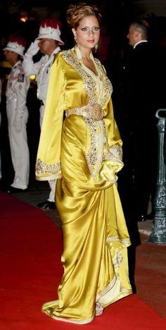 Princess Lalla Soukaina of Morocco.