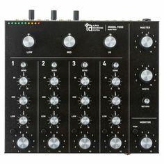 Alpha Recording System ARS Model 9000 Rotary Tabletop DJ Mixer