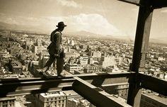 Hermanos Mayo, Construcción de la Torre Latinoamericana, Ciudad de México, octubre de 1951