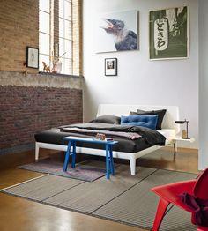 Designbett Auping Essential In Pure White Aupingde Designbed Schlafzimmer Bedroom