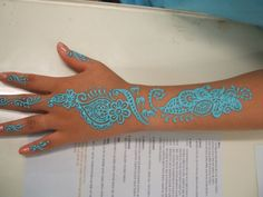 Henna Tattoos ... Beautiful color